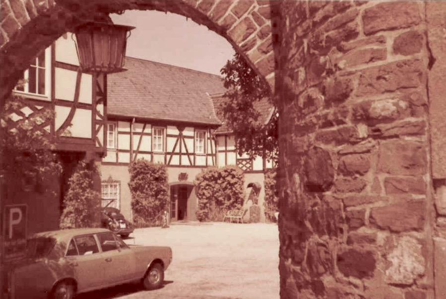 Alte Einfahrt 1976