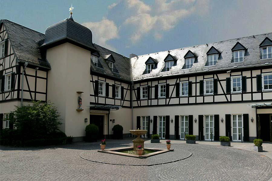 Hotel-Innenhof