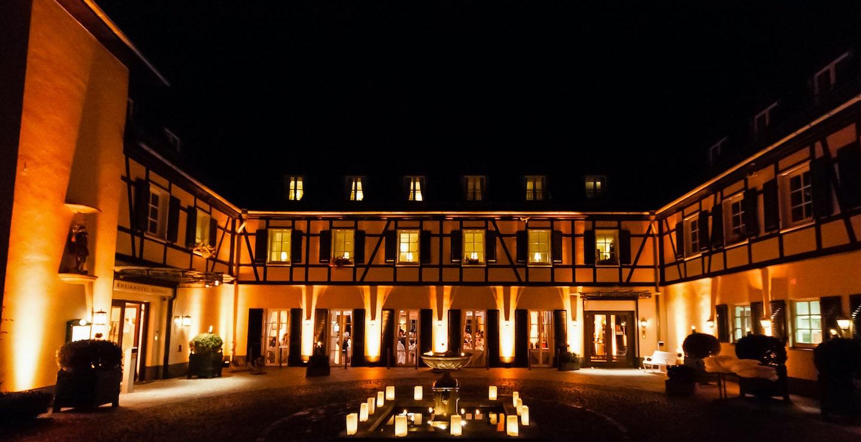 Rheinhotel Veranstaltungsbeleuchtung